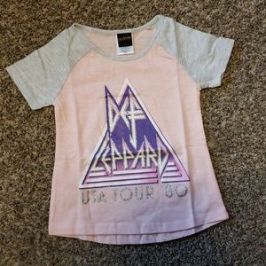 Def Leppard girls shirt